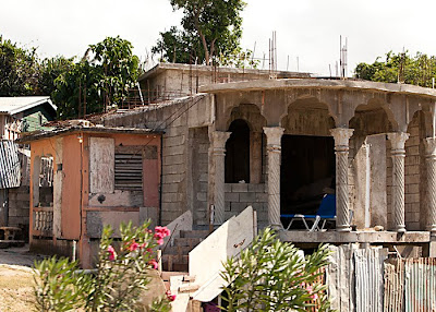 Cinder block home in Montego Bay, Jamaica
