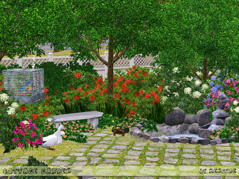 Empire Sims 3 Cottage Garden Supplies By Mensure 39 S Tsr Free