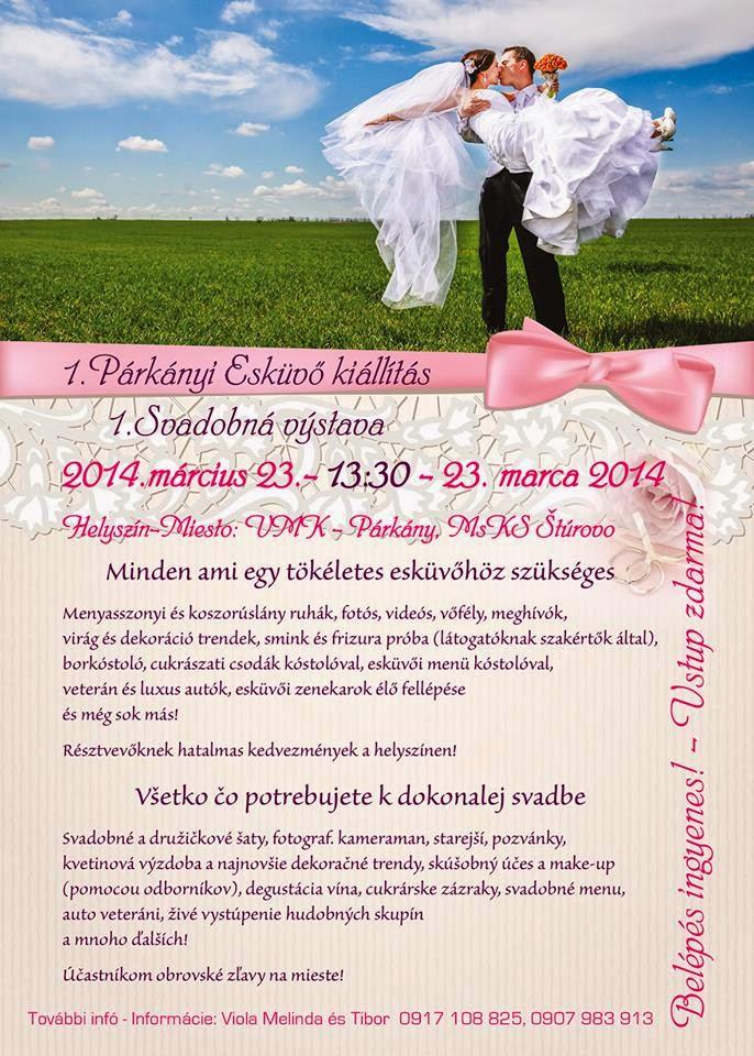 párkányi esküvőkiállítás