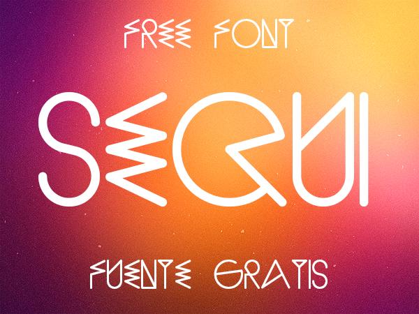 free font sequi