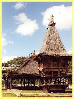 Casa tradicional Timor