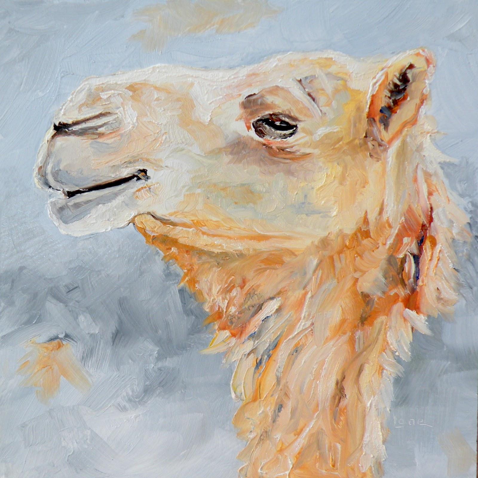 Art For Life Quot Cam Quot A Camel Original Oil On Panel