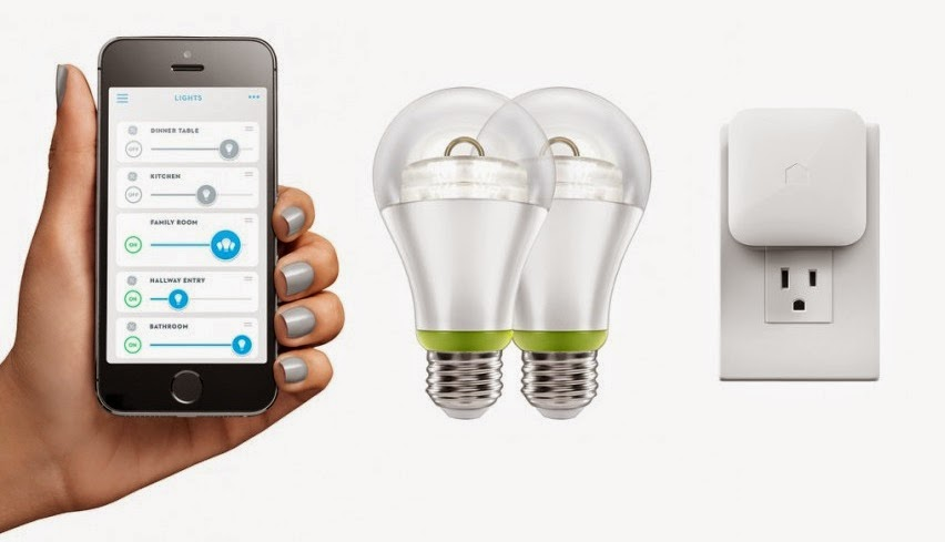 GE smart bulb kit
