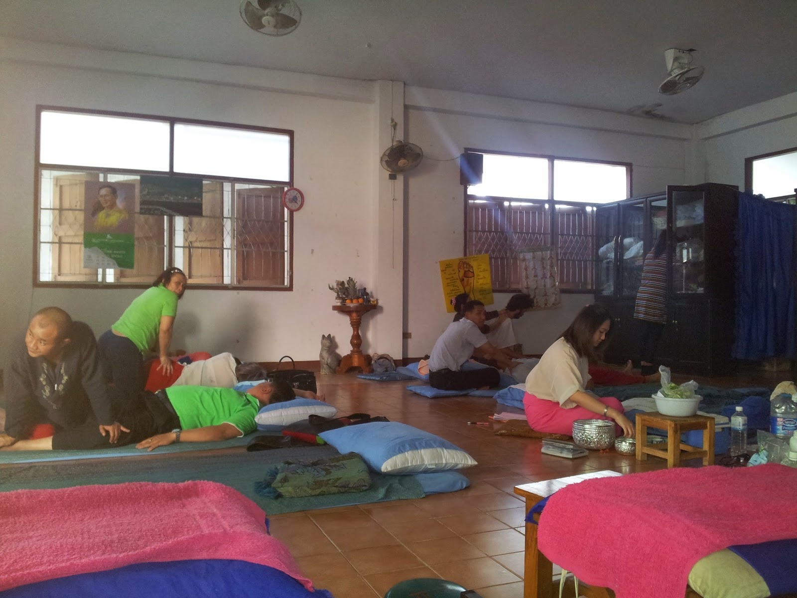 chiang mai, massage, thailande