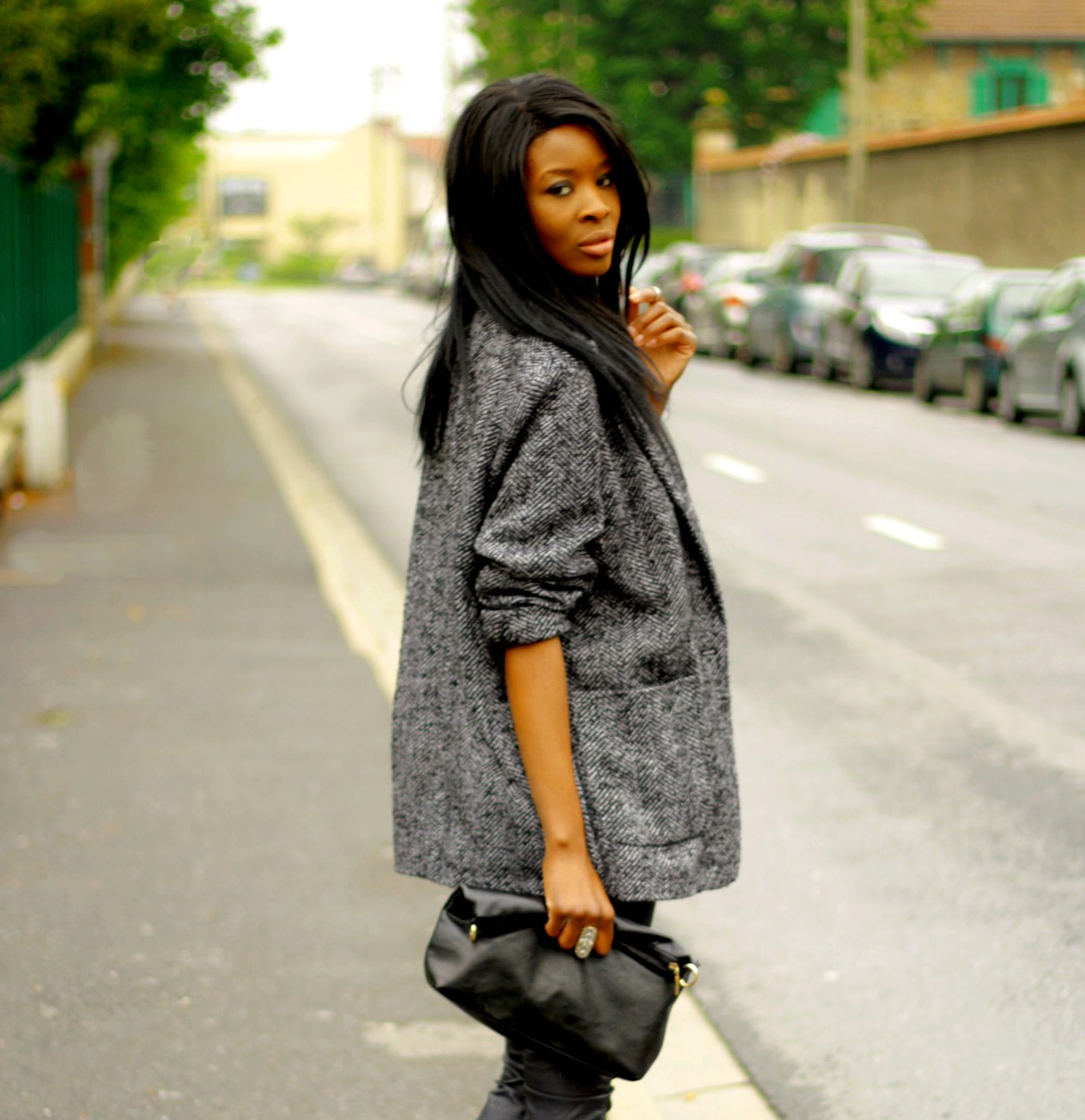 Manteau femme oversize zara