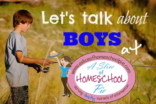 Raising Boys - Let's Talk About Boys at ASliceOfHomeschoolPie.com #boys #parenting #raising boys