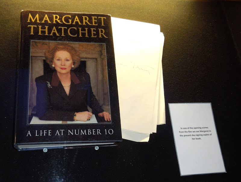 Margaret Thatcher book prop Iron Lady