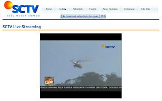 Live Straeming dari SCTV