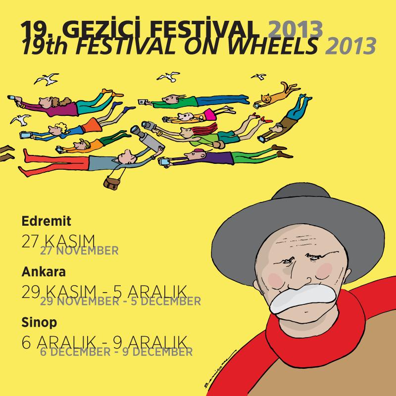 2013 Gezici Festival Basın Sponsoruyuz