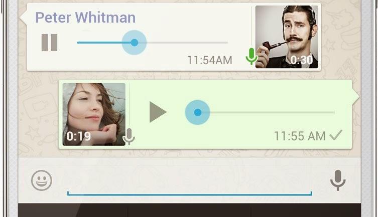 mensajes audio whatsapp