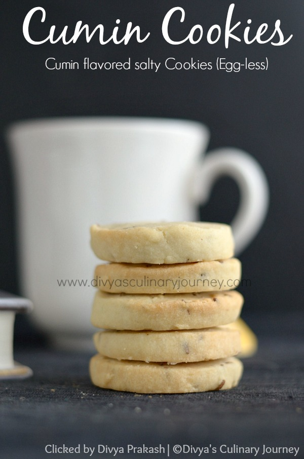 jeera biscuits, cumin cookies, eggless baking