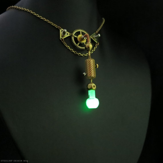 Ring In The Steampunk Decor To Pimp Up Your Home: EPBOT: 15 Pieces Of Steampunk Jewelry To Steam Up Your