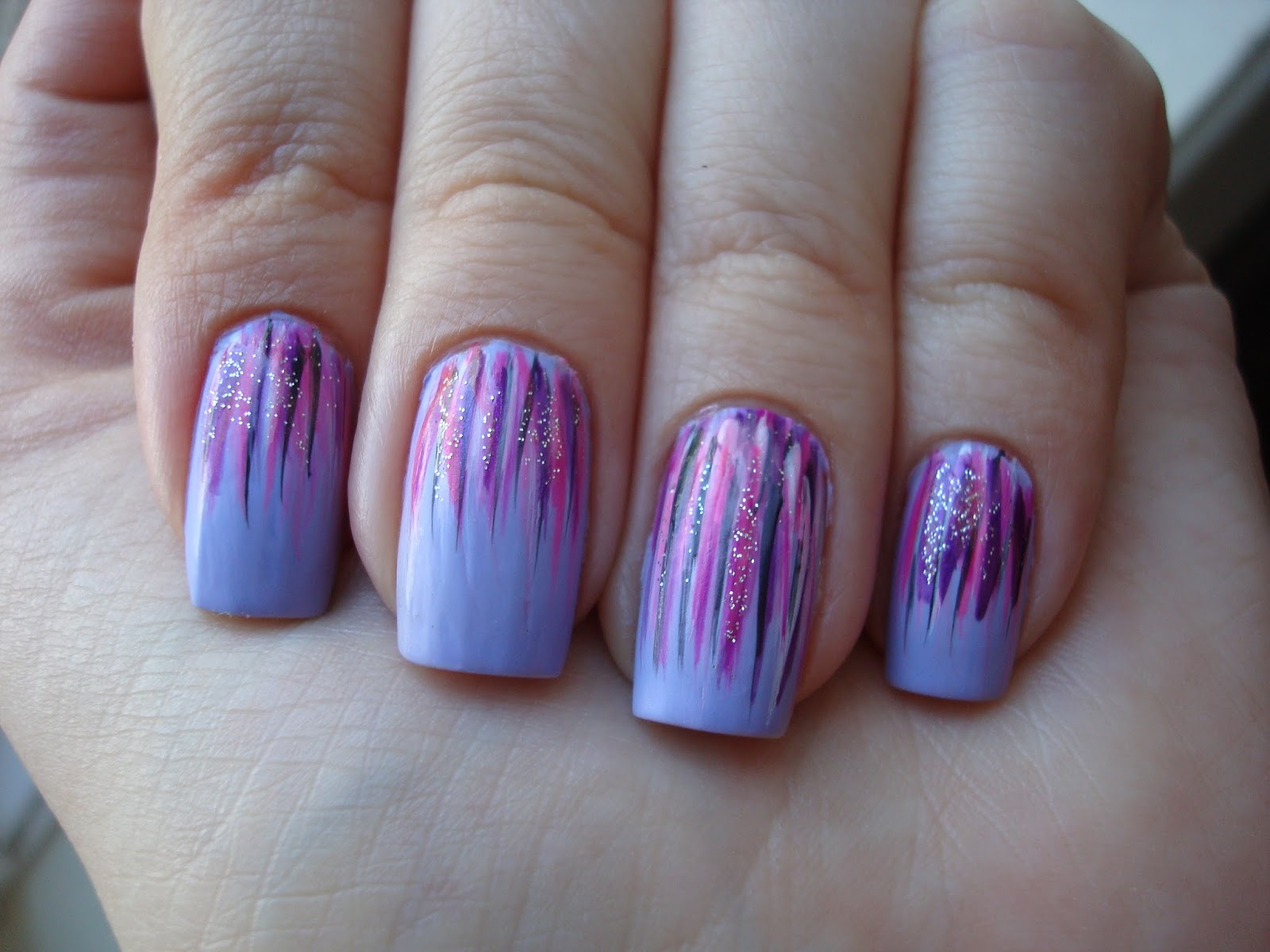 Polished: Nail Striper Overload nails