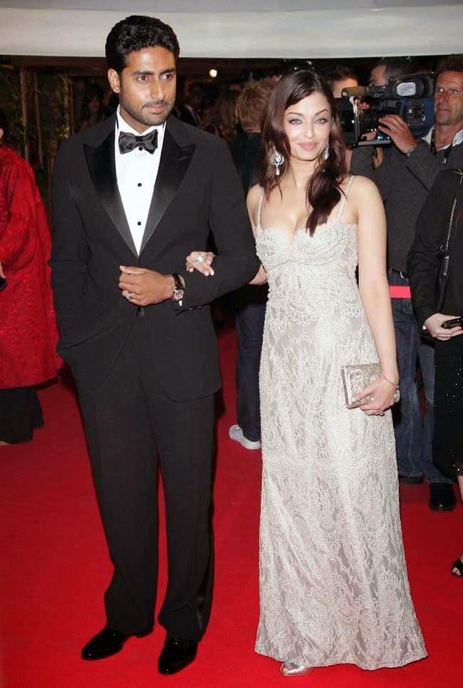 Aishwarya Rai Bachchan at 61st edition of Cannes film festival in 2008