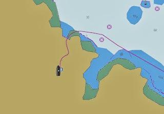 Seekarte ohne Details