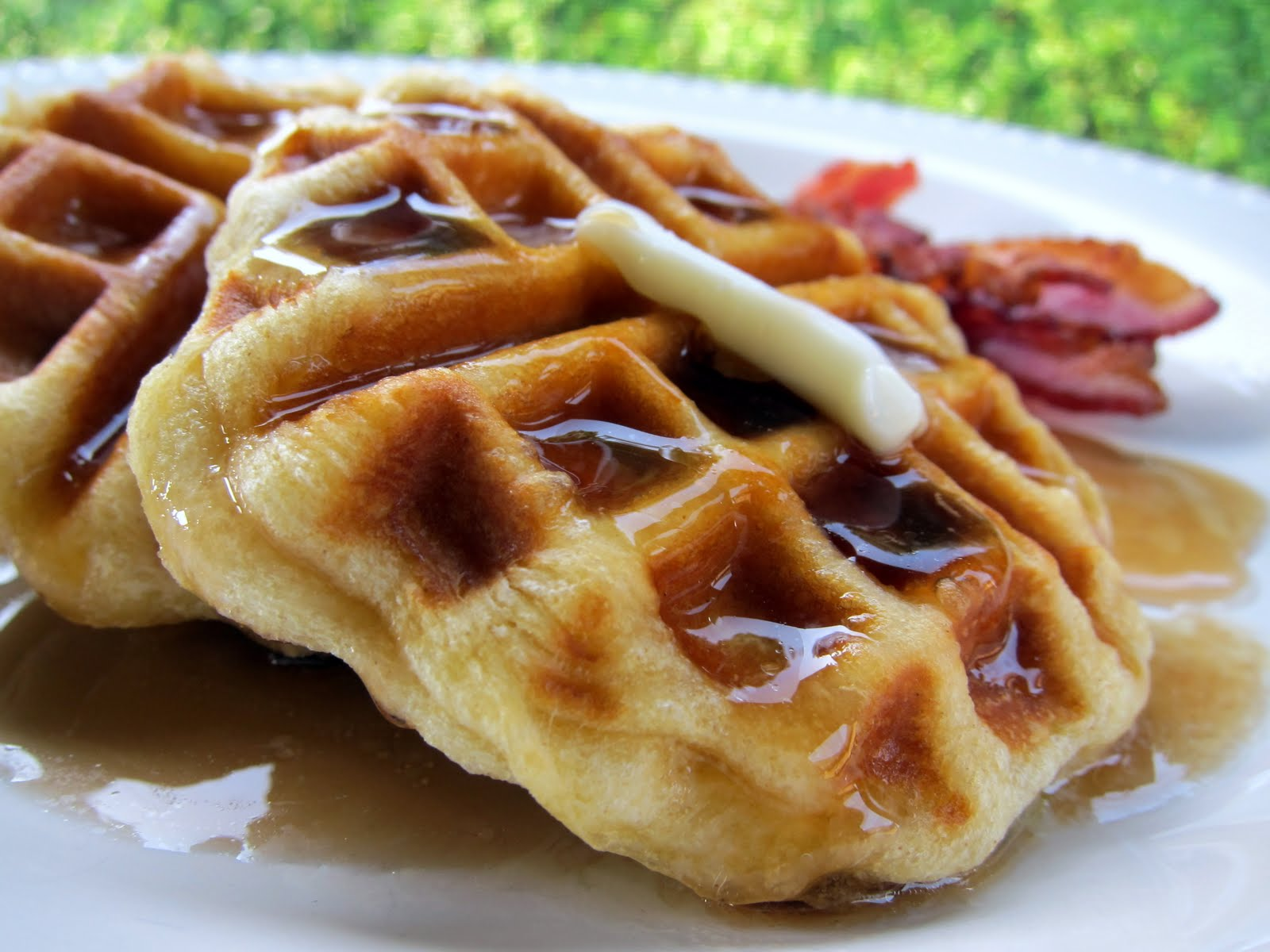 Easy Biscuit Waffles | Plain Chicken