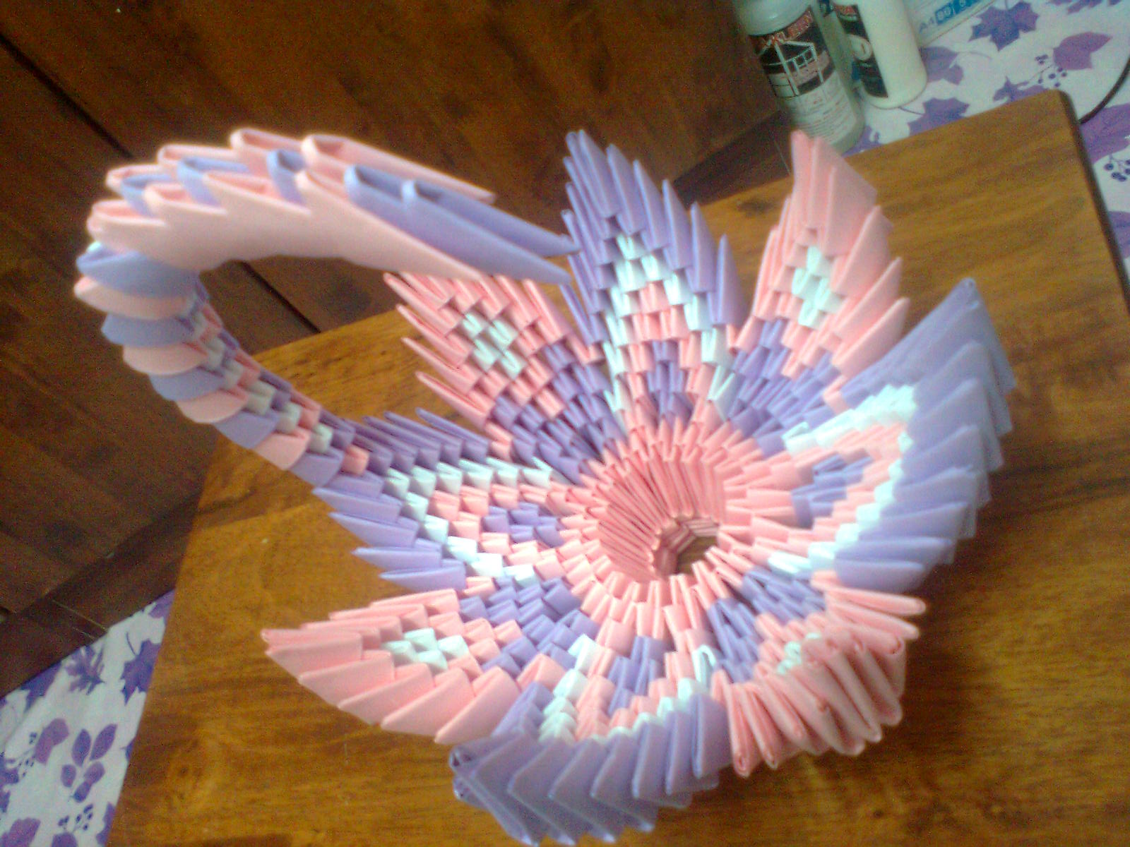 Swan Basic Form Turned Into A Flower Basket For Other Uses