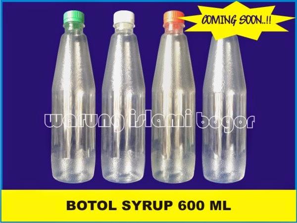 Jual Botol Sirup Plastik ABC 600ml