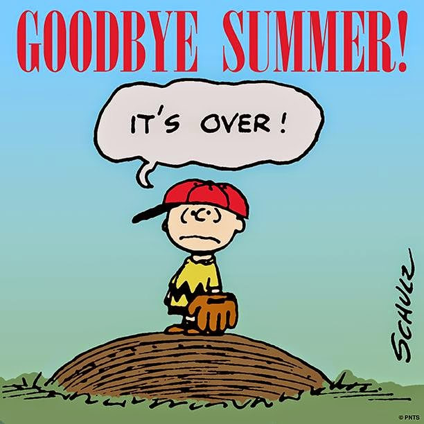 Goodbye Summer, snoopy