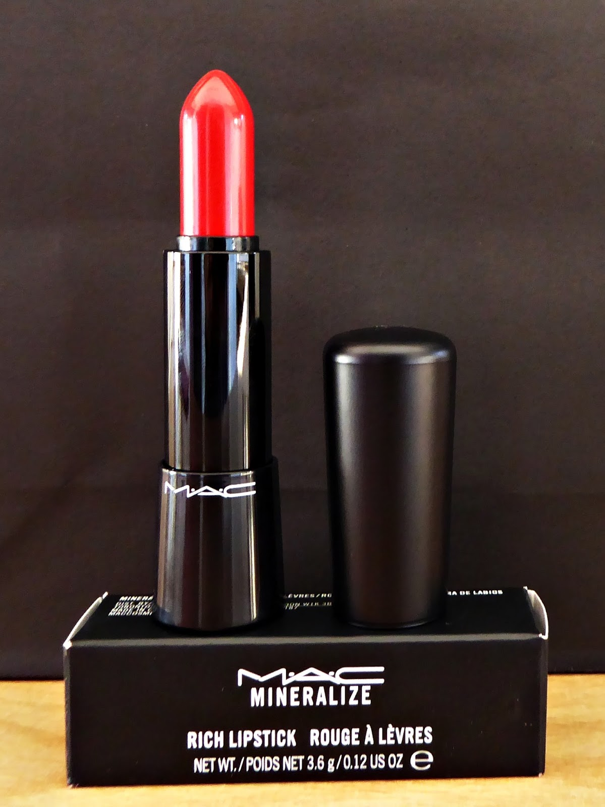 Bien connu Envuelta en crema: Labial mineral Everyday diva de MAC KE23