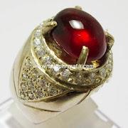 Batu Permata Merah Delima Ruby