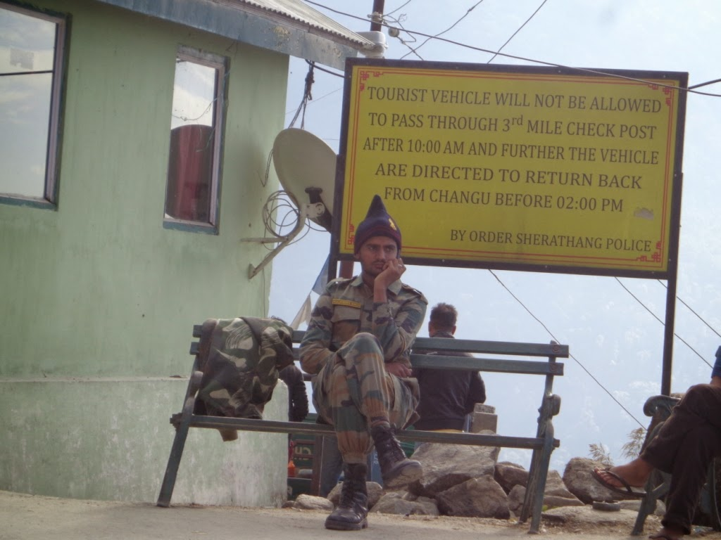 Jawan at Nathula Pass