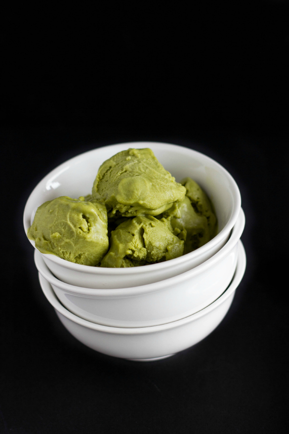 Vegan Green Tea Ice Cream - The Cookie Writer