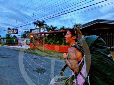 Mochileando por La Fortuna, Costa Rica.