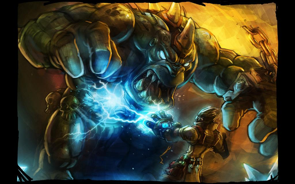Torchlight HD & Widescreen Wallpaper 0.0366496313250932