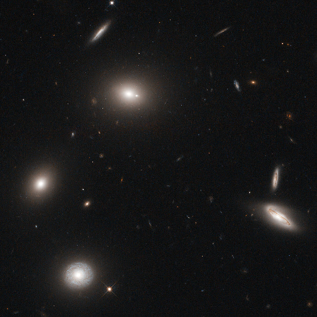 Elliptical Galaxy 4C 73.08