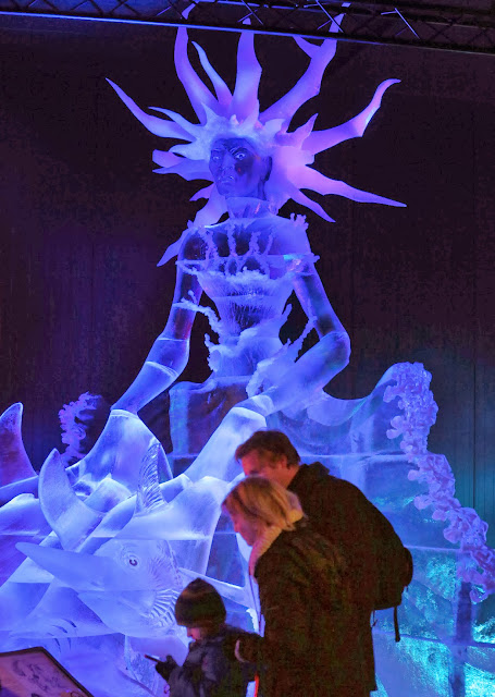 Russia, Ukraine, Poland, France, Bulgaria, Latvia and Lithuania, Ice, World, Germany, Roevershagen, Sculptures, Expedition ins ewige Eis, Expedition into the eternal Ice, Artist, Creation, Winter, Karls Erlebnishof,
