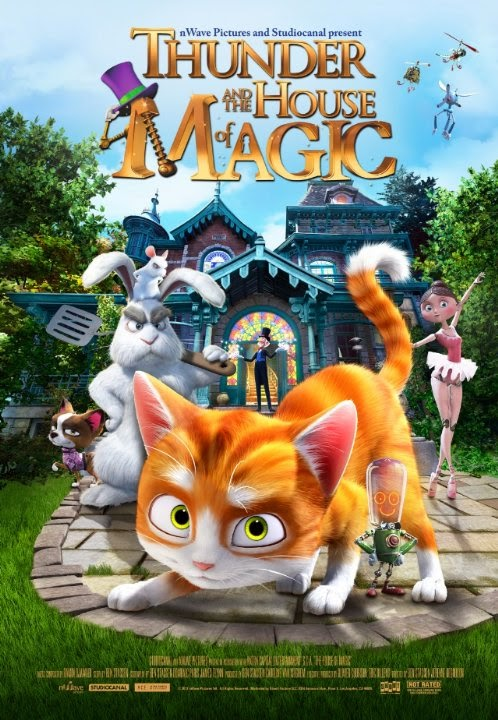 Büyüler Evi: Sihirbaz Kedi – The House of Magic Full İndir