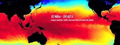 """NASA ALERTA UN IMPORTANTE FENOMENO DE """"EL NIÑO"""" PARA FINALES DE 2014"""