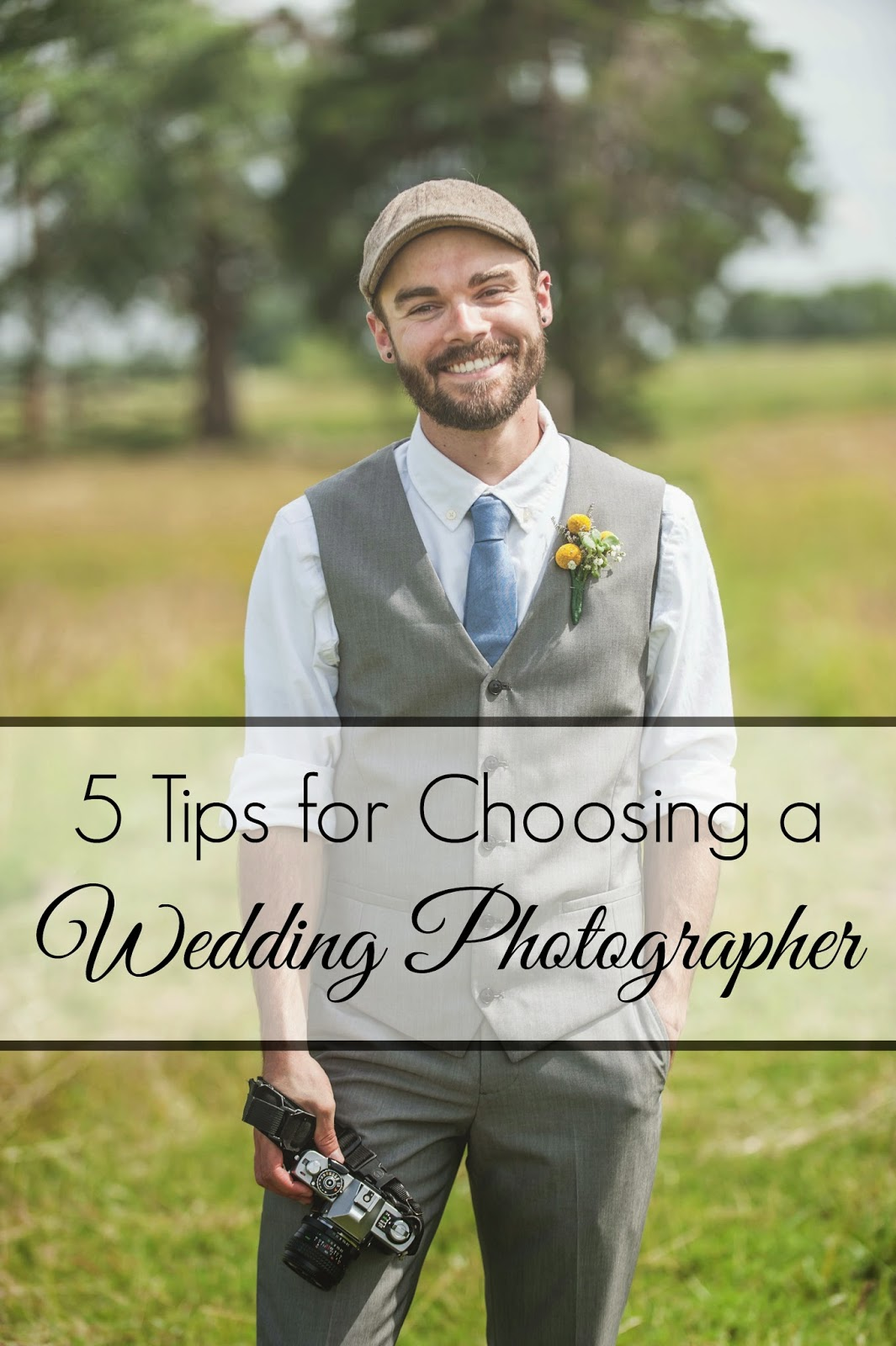 5 Tips for choosing a wedding photographer