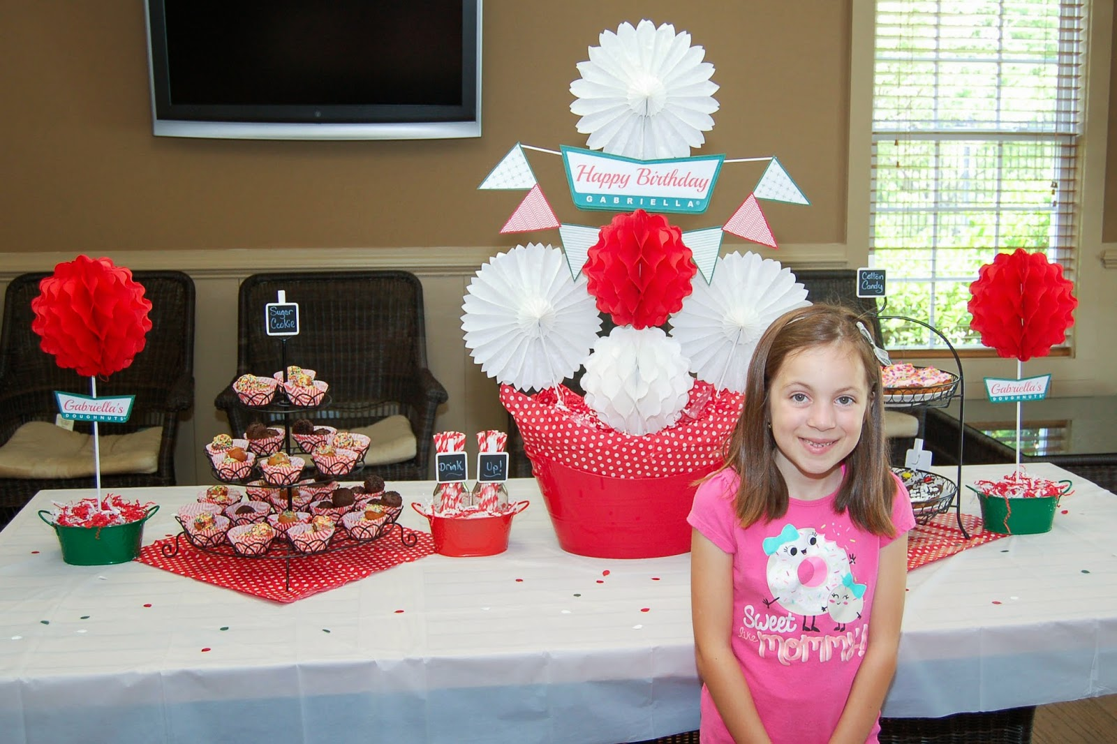 Krispy Creme Theme Donut Party by The Sweet Chick