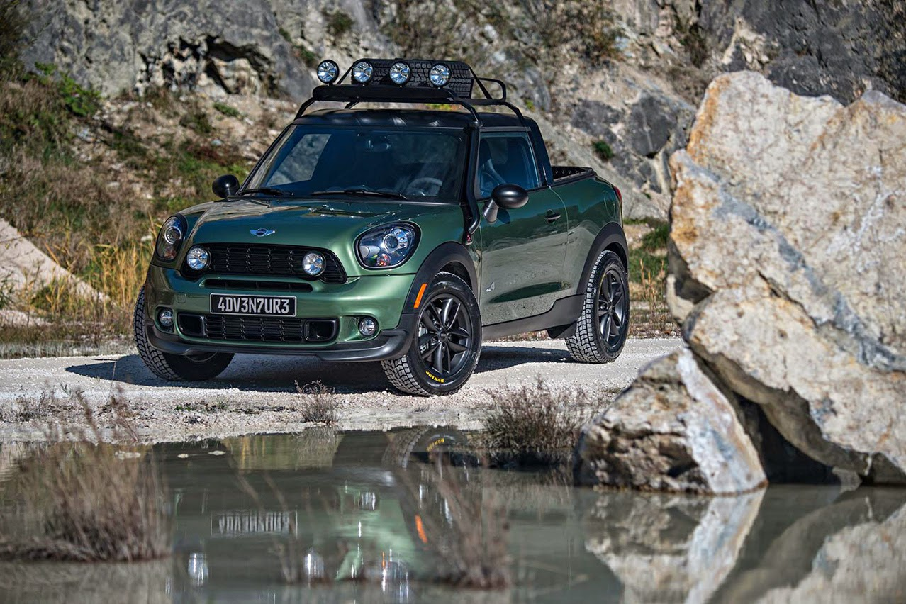 auto pick up mini paceman adventure