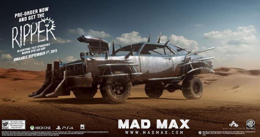 Mad Max PC Game Free Download Poster