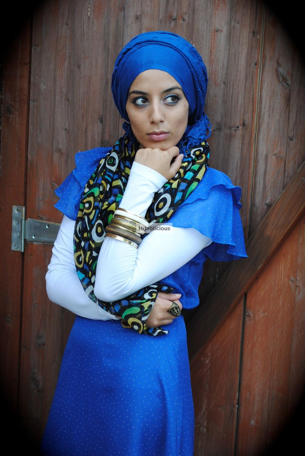 Hijablicious Vintage Turban Hijab Style