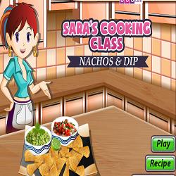Nachos & Dip @ Sara's Cooking Class