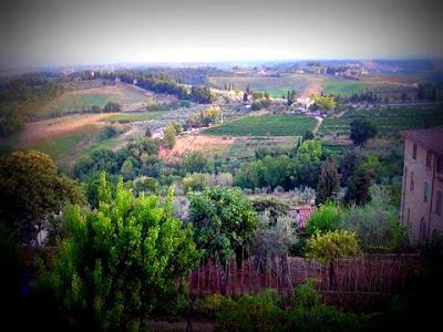 Paisaje de San Gimignano