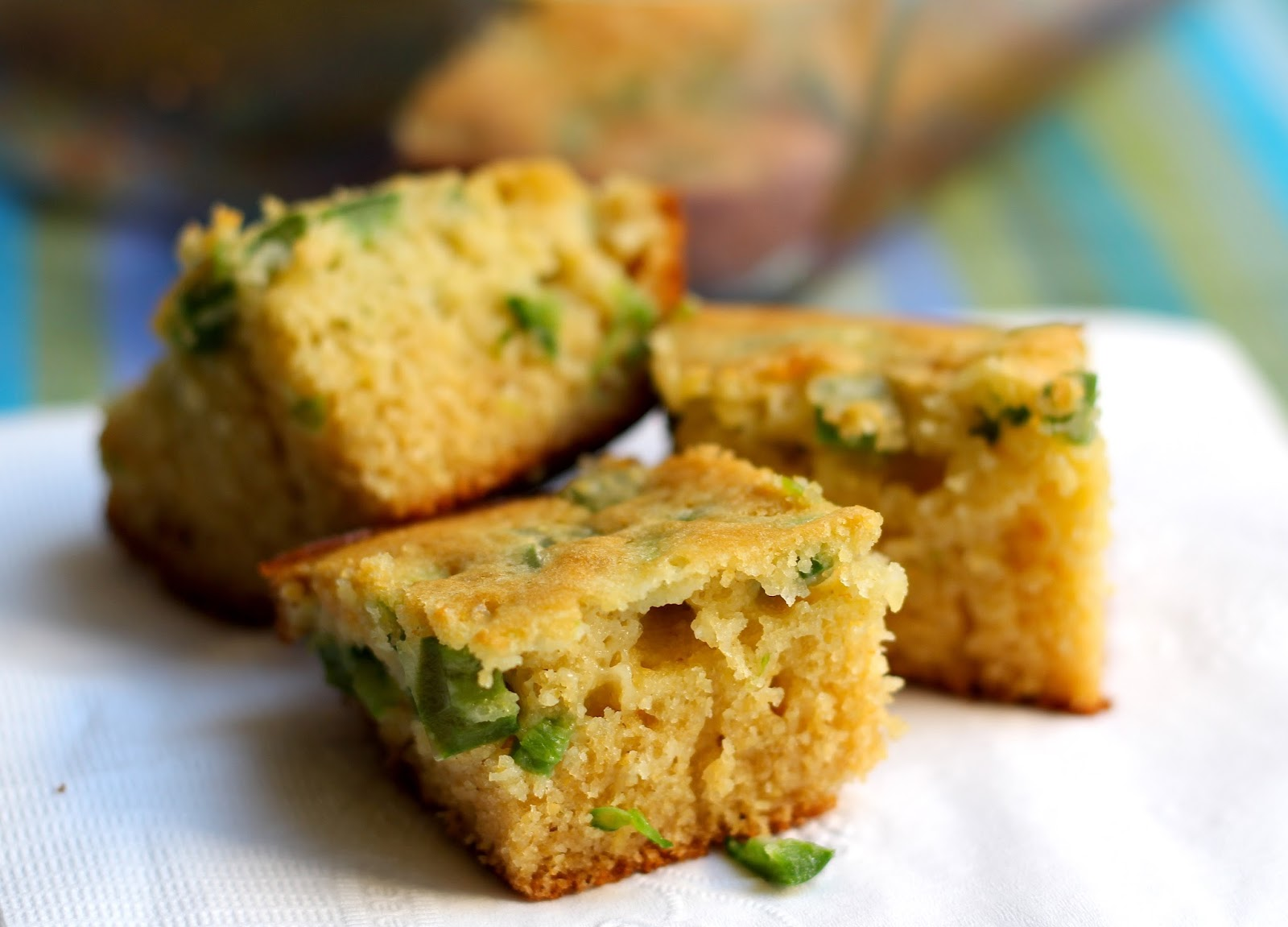 ... WITH LOVE by..... The Burmese Mom: Honey Jalapeno Cornbread