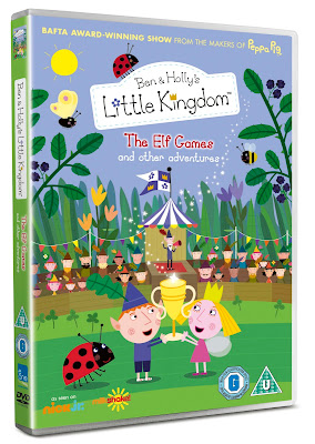 Ben and Holly's Little Kingdom The Elf Games, Ben and Holly DVD, The Elf Games
