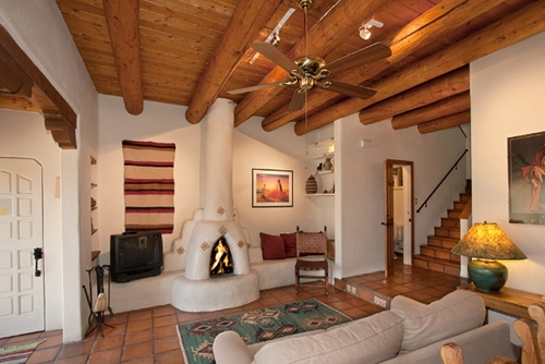 New mexico enchantment santa fe vacation rentals for Santa fe new mexico cabin rentals