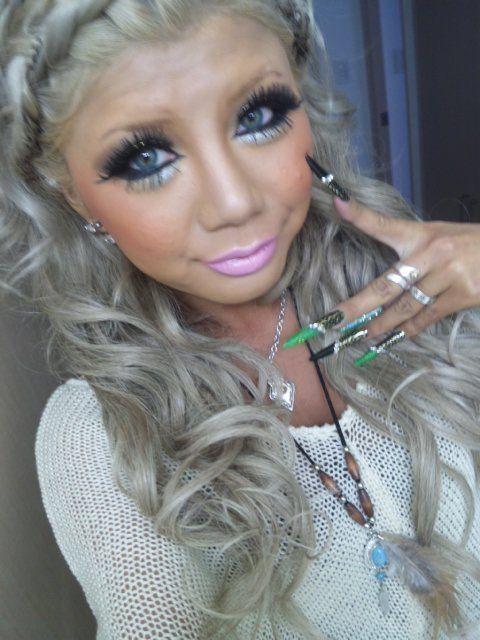 Ash Brown Pink Hair -ash pink -ash white