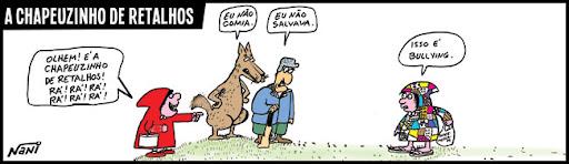A Chapeuzinho de Retalhos. bullying