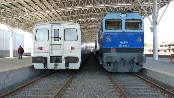 crÓnica ferroviaria inauguraciÓn de la nueva estaciÓn ferroviariacrónica ferroviaria con la gente colega de plataforma 14