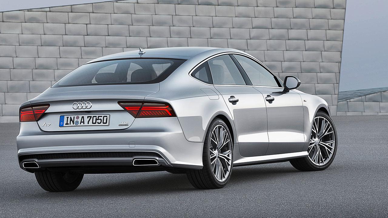 Audi A7 Sportback rear