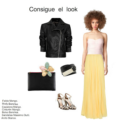 Yellow Pleated Skirt 6