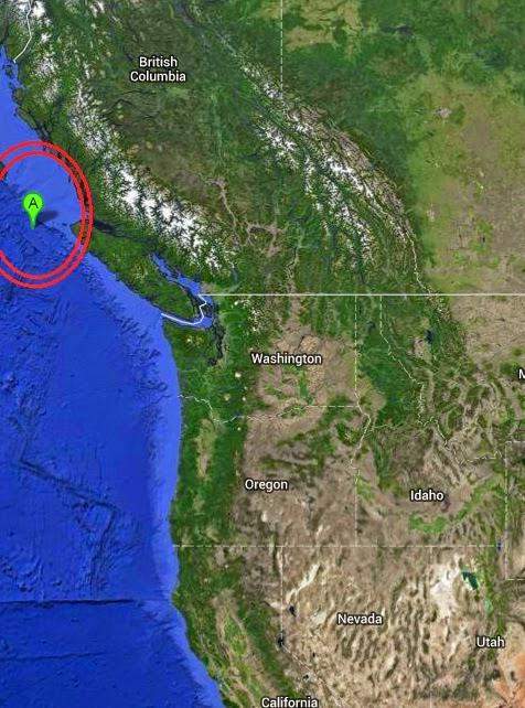 Magnitude 4.4 Earthquake of Port Hardy, Canada 2014-09-10