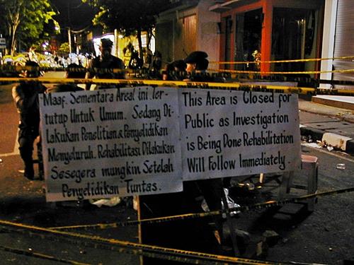 レギャン通りのグラウンドゼロ・The 2002 Bali bombings occurred on 12 October 2002